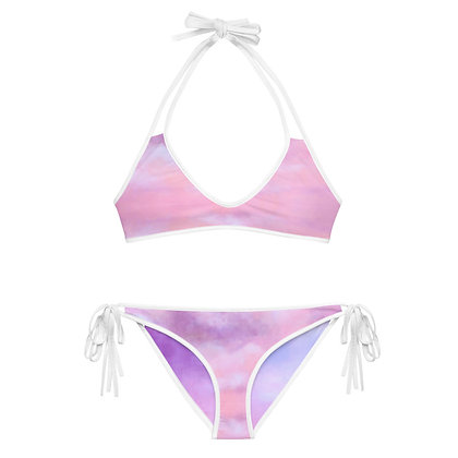 NUAGE ROSE Reversible Bikini Set