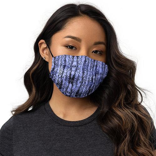 PURPLE SNAKE Face mask