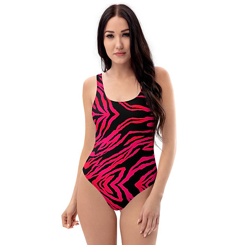 SUNSET TIGER One-Piece Swimsuit