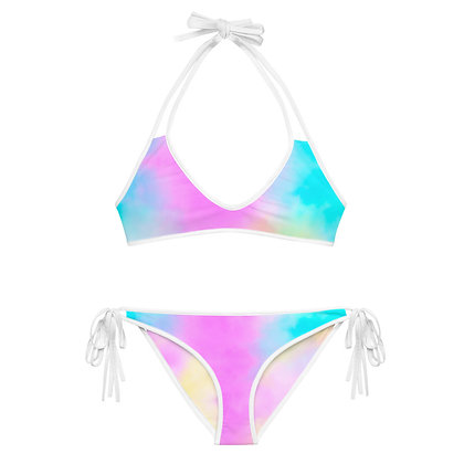 CANDY CLOUDS Reversible Bikini Set