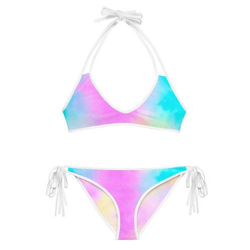CANDY CLOUDS Reversible Bikini Set