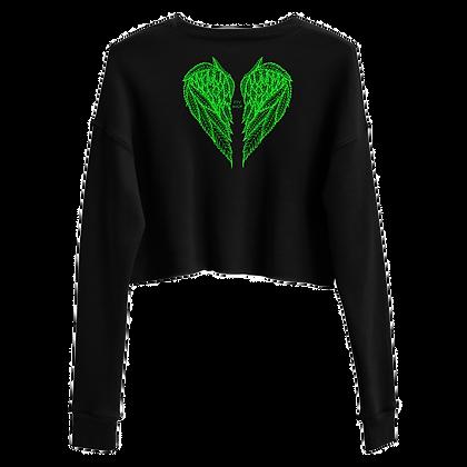 FLY HIGH Crop Sweatshirt