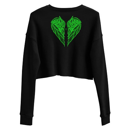 FLY HIGH Crop Sweatshirt