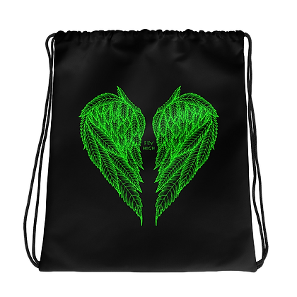 FLY HIGH Drawstring bag