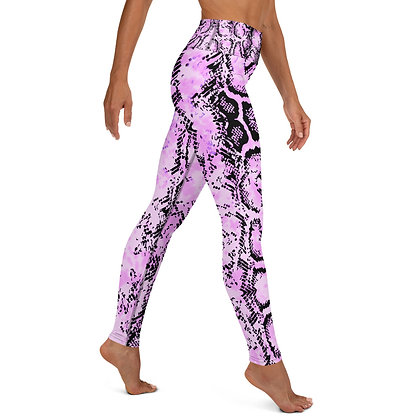 PINK SNAKE  Yoga Leggings
