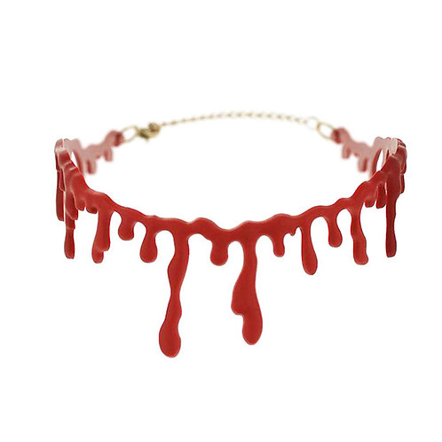 BLOODY DOLL CHOKER