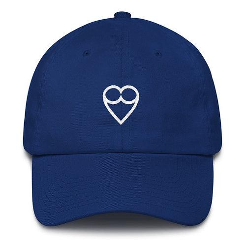 HEART BLUE CAP