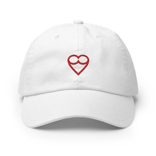 RED HEART Champion  Cap (Black / White)