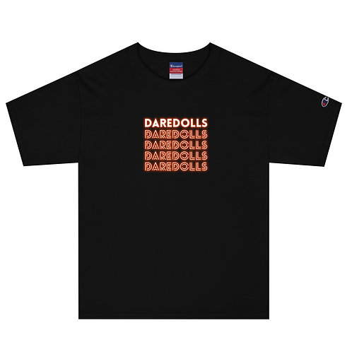 NEON ORANGE Champion T-Shirt