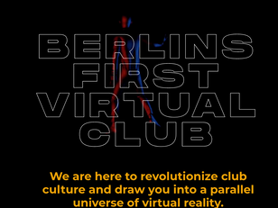 RAVE SPACE-Berlin's first virtual 3D club