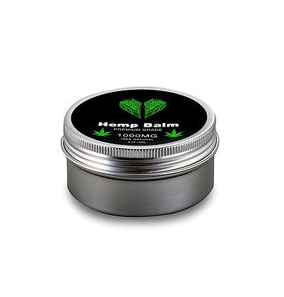 Hemp Seed Oil Balm - Premium Grade - 100% Natural - 1000MG - 2 Oz. / 60 G.