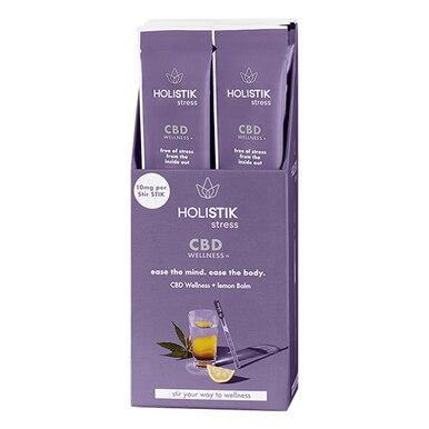 HOLISTIK Wellness - CBD Drink Mix - Stress Stir STIK - 10mg