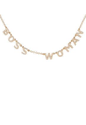 Choker Boss Woman Necklace Rose Gold