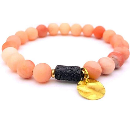 Sun Goddess Pink Bracelet