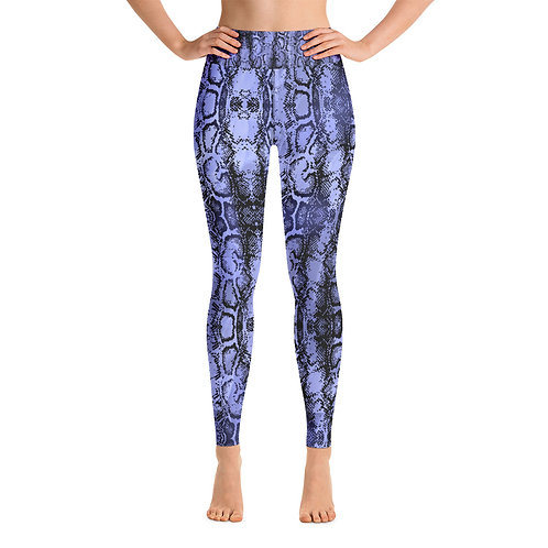 PURPLE SNAKE  Yoga Leggings