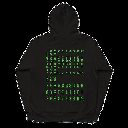 Matrix Tamazight Eco Unisex pullover hoodie