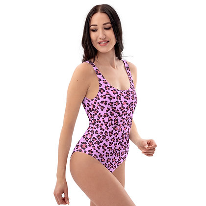 PINK LEOPARD One-Piece Swimsuit