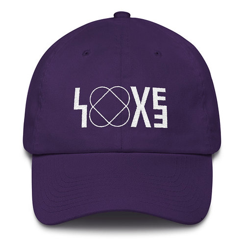LOVE  PURPLE CAP