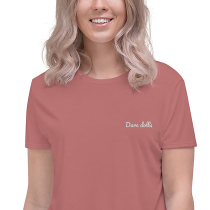 Dare Dolls Signature Crop Tee (embroidered)