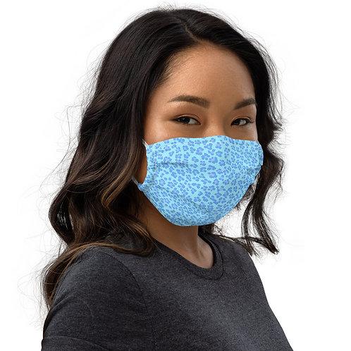 BLEU LEOPARD Face mask