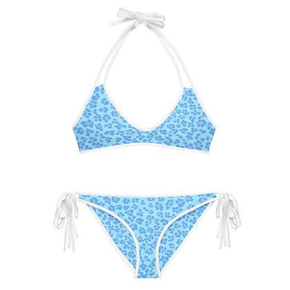 BLEU LEOPARD  Reversible Bikini Set