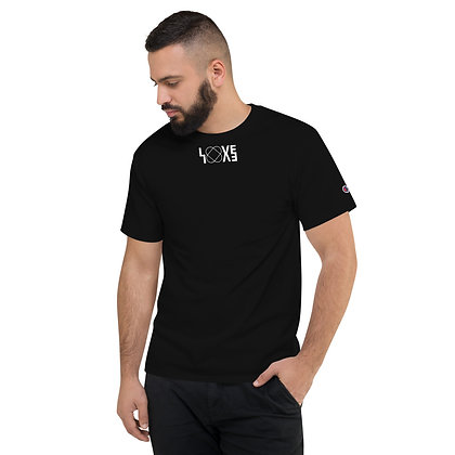 small LOVE Black Champion T-Shirt