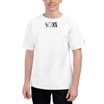 LOVE Champion T-Shirt (White / Grey)