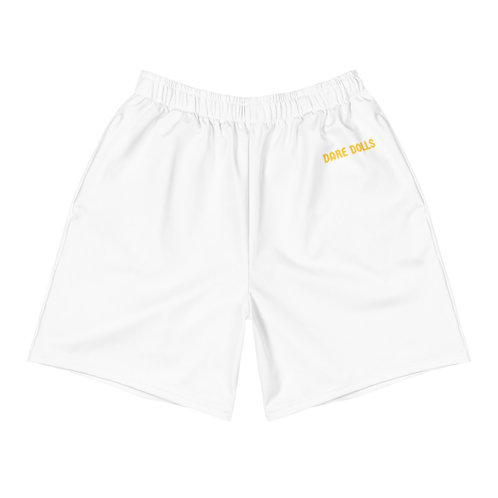 Gold DARE DOLLS Athletic Long Shorts