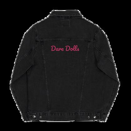 Pink Signature Unisex denim jacket