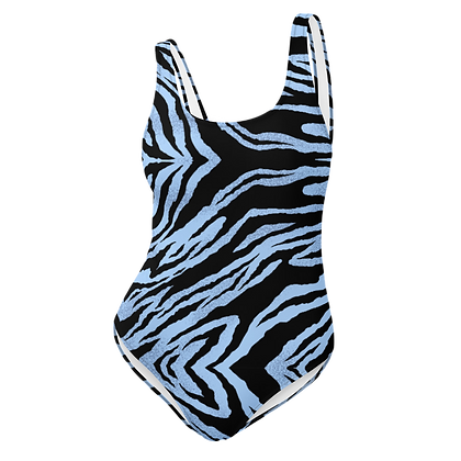 BLUE TIGER One-Piece Swimsuit