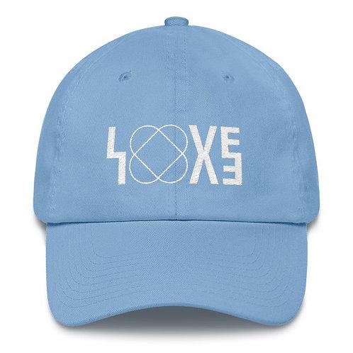 LOVE  LIGHT BLUE CAP