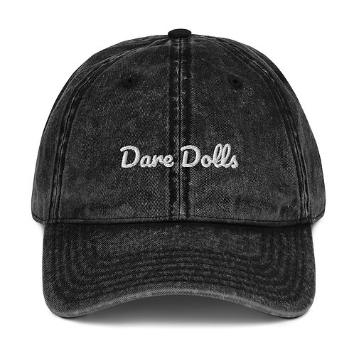 Dare Dolls Vintage Cap (embroidered)