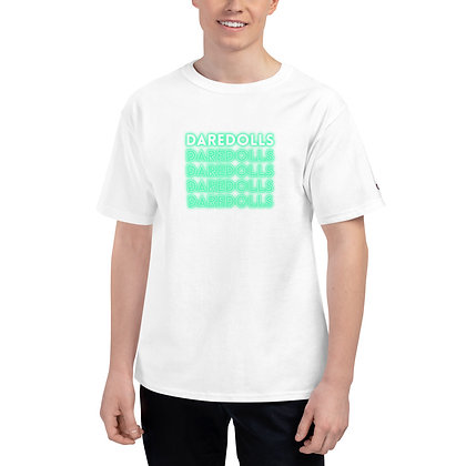 NEON GREEN Champion T-Shirt