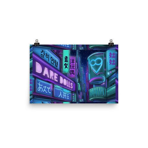 DAREDOLLS City  paper poster