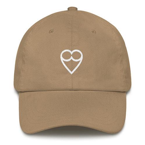 HEART DARK NUDE CAP