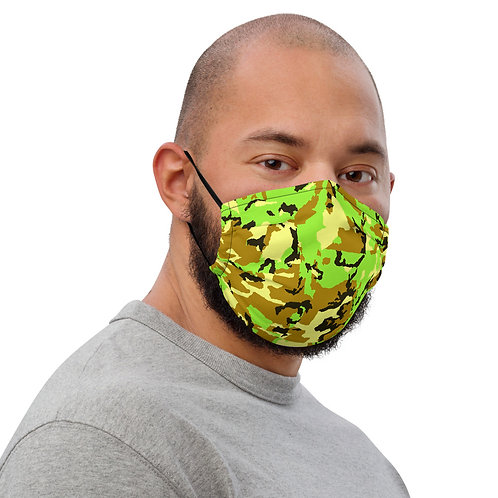 GREEN CAMO Face mask