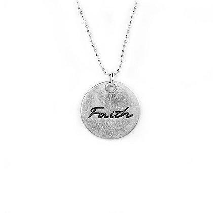 Faith Circle Necklace