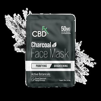 CBDfx - CBD Face Mask - Charcoal - 50mg