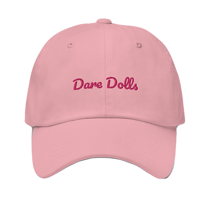 Pink Dare Dolls Signature Dad hat (embroidered)