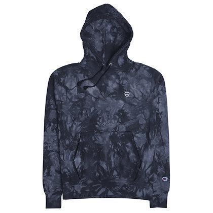 HEART Unisex Champion tie-dye hoodie