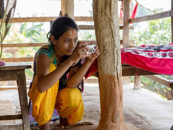 Nepalese Girls Take Photos of All the Things They Are Not Allowed to Touch During Their Periods
