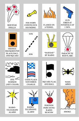 marine distress signals