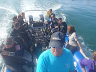 boat full of divers
