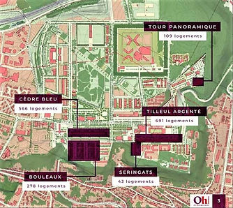 Nancy Grand Projet, renovation Plateau de Haye