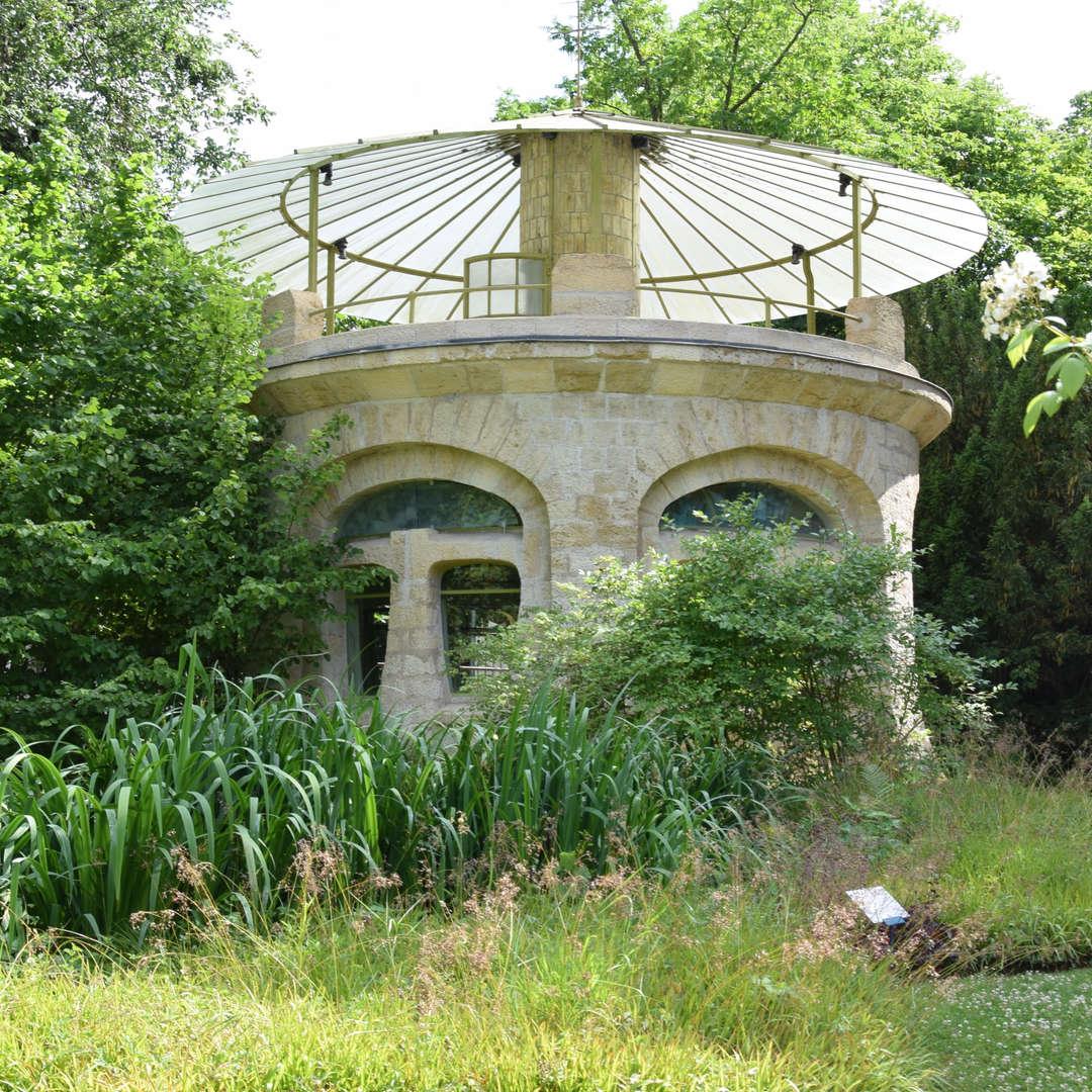 jardin du musée de l'Ecole de Nancy