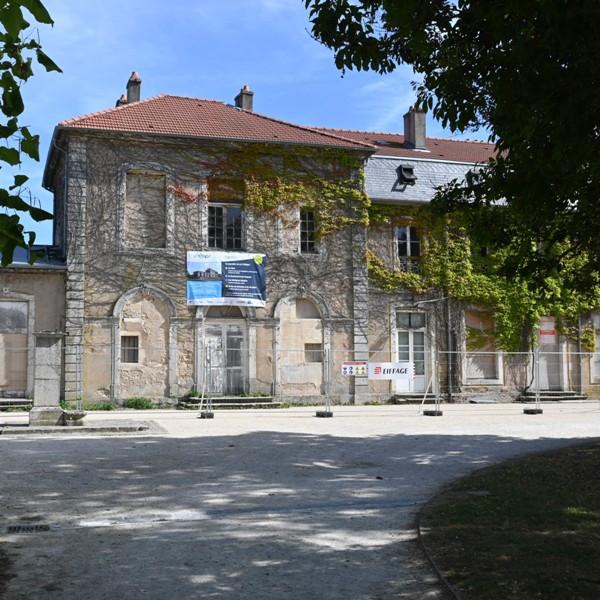nouveau départ pour le chateau de Brabois
