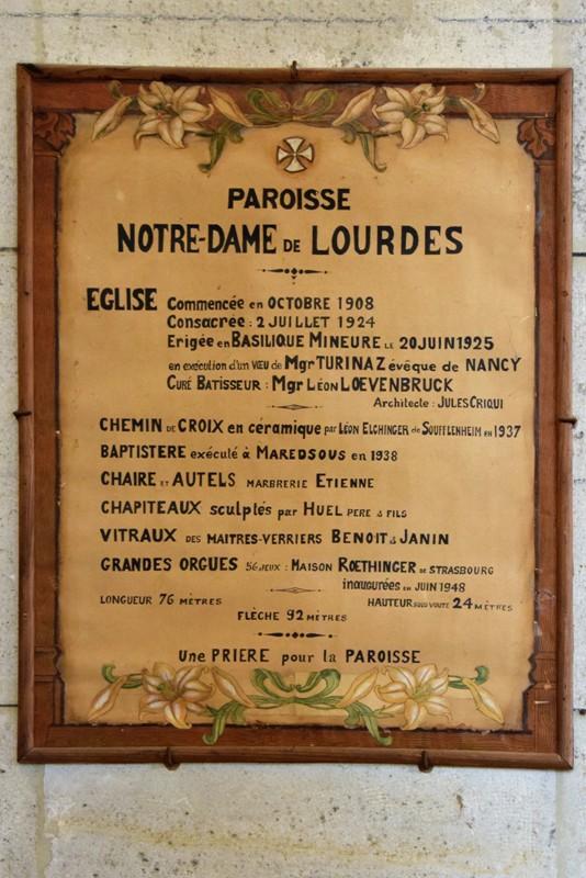 Nancy, Notre-Dame-de-Lourdes