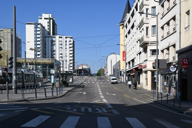 Nancy, avenue Foch