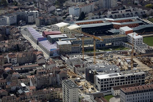 Nancy, chantier Artem
