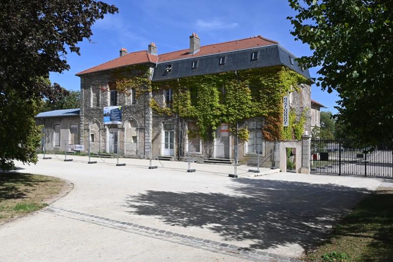 réaménagement du château de Brabois